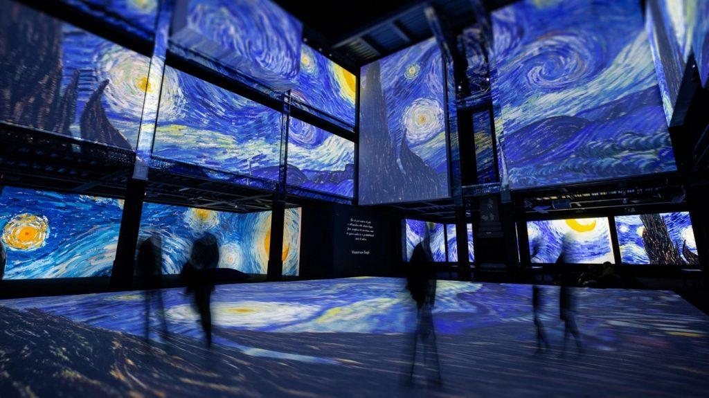 360 度環繞巨幕動態展示《再見梵谷-光影體驗展》即將登台!3,000 幅畫作影像,用全新角度感受梵谷